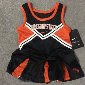 Nike Oregon State cheerleader outfit 12M